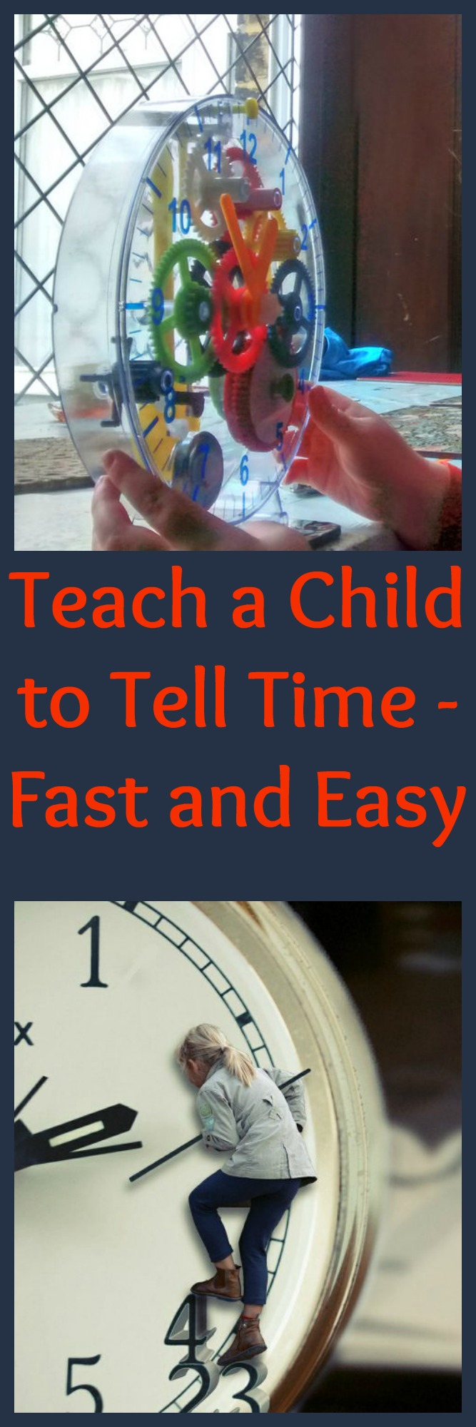 Teach a Child to Tell Time - Fast and Easy